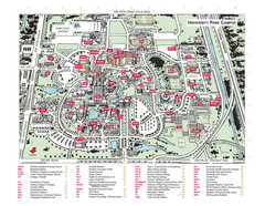 Florida International University Campus Map