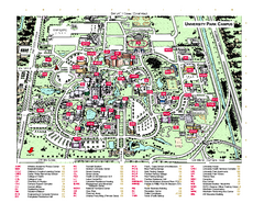 Florida International University Map