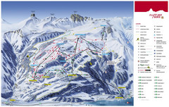 Flumserberg Ski Trail Map