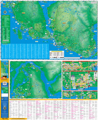 Folded Sunshine Coast Super Map