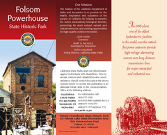 Folsom Powerhouse State Historic Park Map