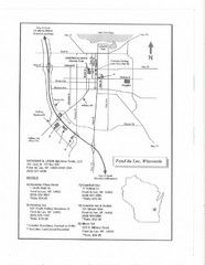 Fon Du Lac, Wisconsin Map