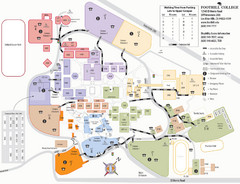 Foothill College Campus Map