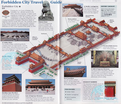 Forbidden City Travel Guide Map