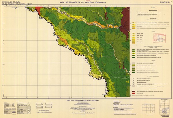 Forest Map of the Colombian Amazonia