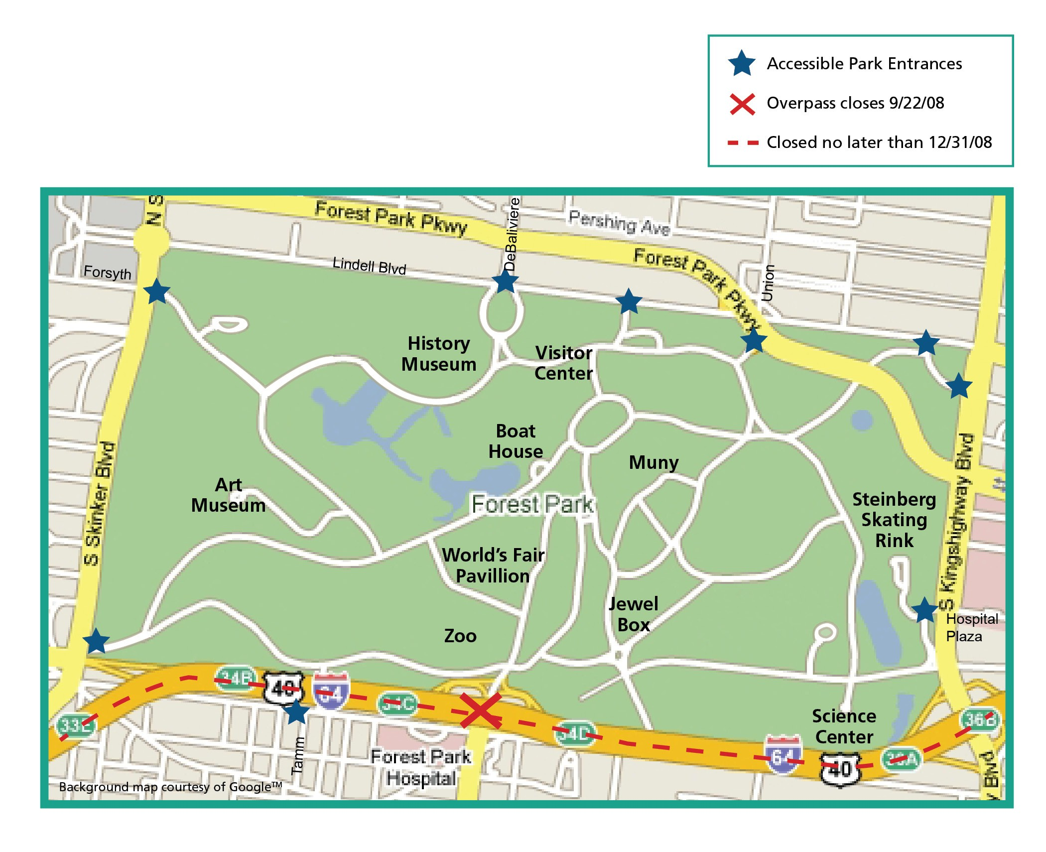 Map Of Forest Park St Louis Miles Pictures to Pin on Pinterest PinsDaddy