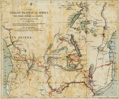 Forest Plateau of Africa Map