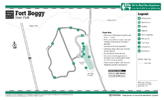 Fort Boggy, Texas State Park Facility Map