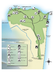 Fort Clinch State Park Map