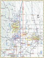 Fort Collins, Colorado City Map