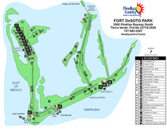 Fort De Sota Park Map