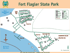 Fort Flagler State Park Map