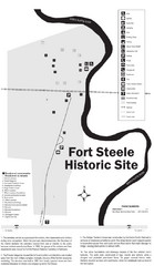 Fort Fred Steele State Historic Site Map