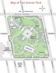 Fort Greene Park Map