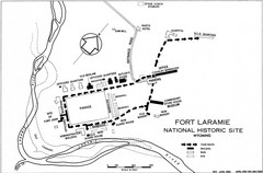 Fort Laramie Guide Map