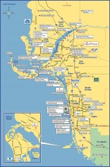 Fort Meyers tourist map
