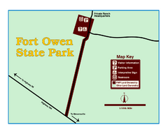 Fort Owen State Park Map