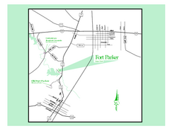 Fort Parker, Texas State Park Map