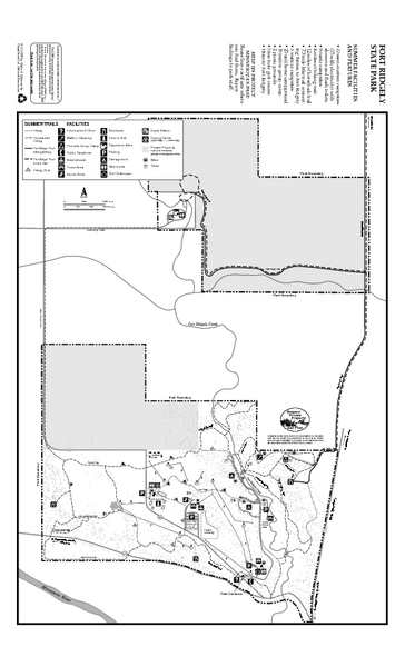 Fort Ridgely State Park Summer Map