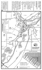 Fort Snelling State Park Summer Map