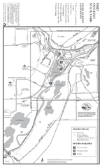 Fort Snelling State Park Winter Map