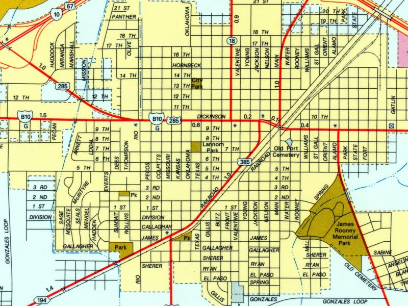 denton texas map with Fort Stockton City Map on Decatur 3 besides 5694052239 furthermore El Paso Map together with Fort Stockton City Map also Irving Texas Map.