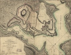 Fort Ticonderoga 1777 Map