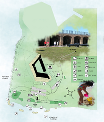 Fort Zachary Taylor State Park Map