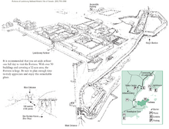 Fortress of Louisbourg Map