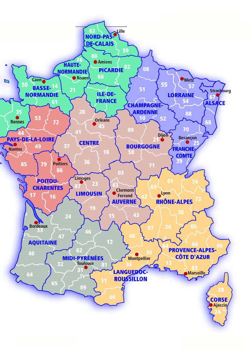 France map see map details from francebuyingguide com
