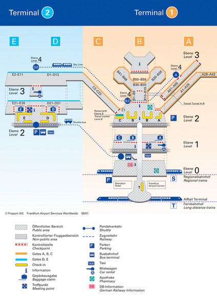 frankfurt am main airport map Frankfurt Airport Map Frankfurt Airport Mappery frankfurt am main airport map