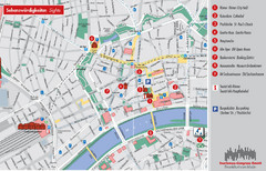 Frankfurt Tourist Map