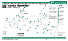 Franklin Mountains, Texas State Park Facility and...