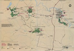 Fredricksburg National Parks Map