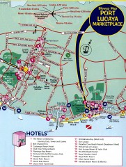 Freeport tourist map