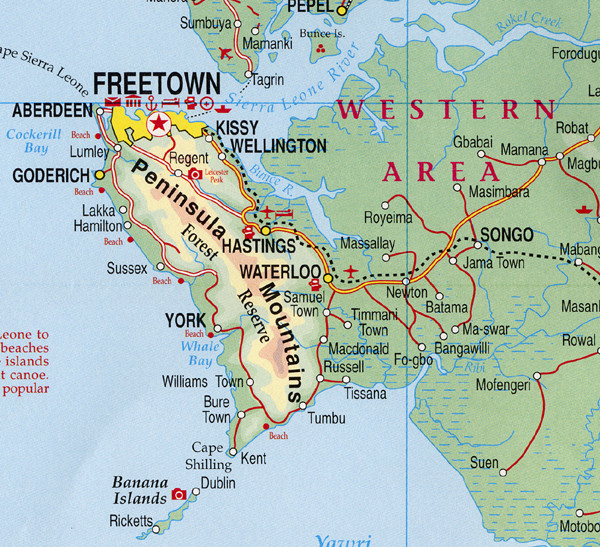 Freetown Map | Maps Freetown Map