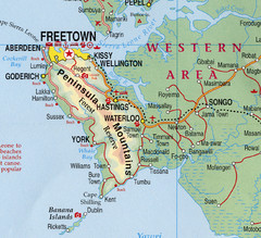 Freetown Map