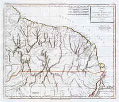 French Guiana 1824 Map