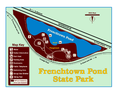 Frenchtown Pond State Park Map