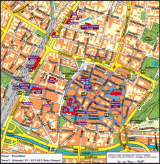 Frieburg Tourist Map
