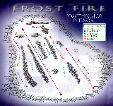 Frost Fire Mountain Ski Trail Map