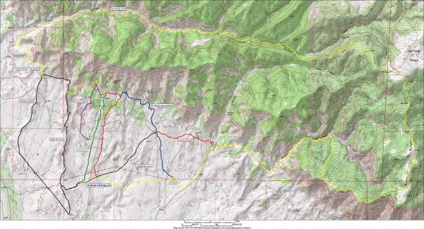 Fruita 18 Road Trail Map