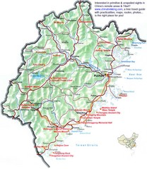 Fujian Tourist Map