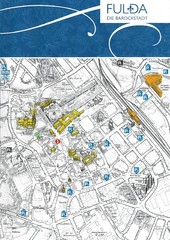 Fulda-city map
