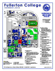 Fullerton College Campus Map 2010