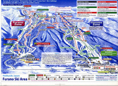 Furano Ski Trails Map