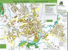 Furth Tourist Map