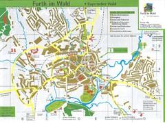 Erlangen Tourist Map Erlangen Germany mappery