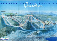 Gérardmer Ski Trail Map