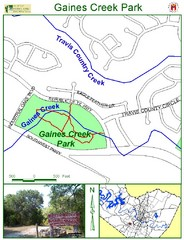 Gaines Creek Park Map